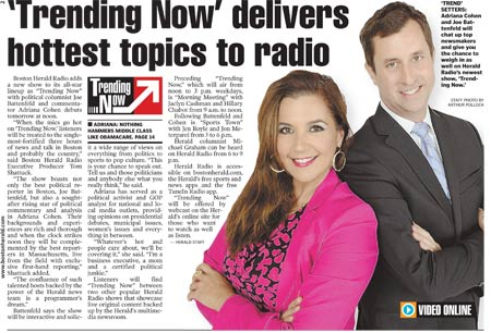Trending Now delivers the hottest topics to radio