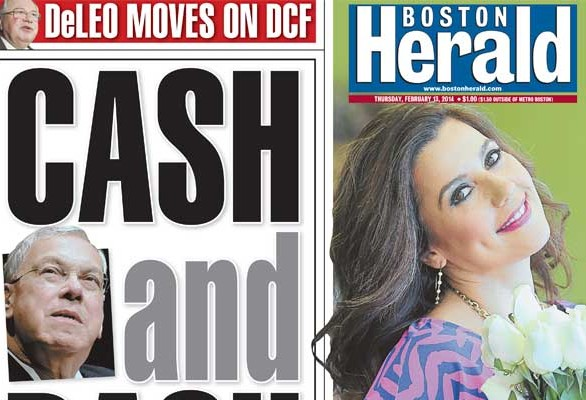 Adriana Cohen on Boston Herald cover
