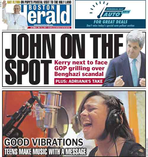 Adriana's take on Kerry's Benghazi Role