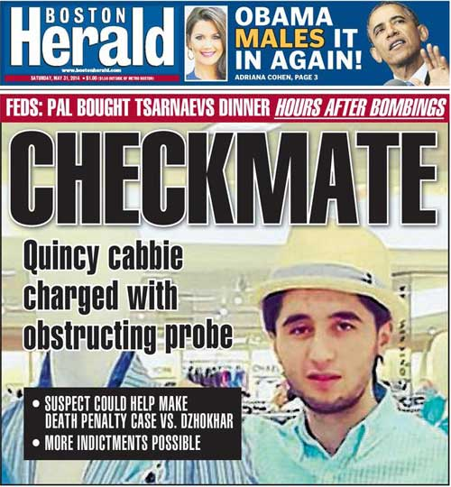 Boston Herald | May 31, 2014: Obama Males it in again
