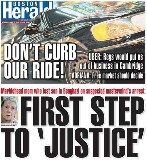 Boston Herald | June 18, 2014