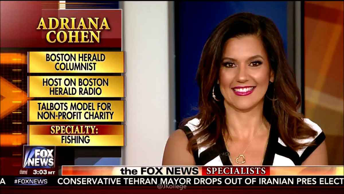 adriana cohen on fox news the specialists