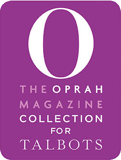o-collection and dress for success logo for Talbots