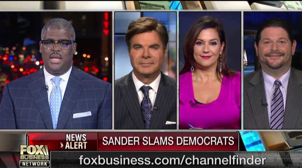 Adriana Cohen appeared on Making Money with Charles Payne | 22 Nov. 2016
