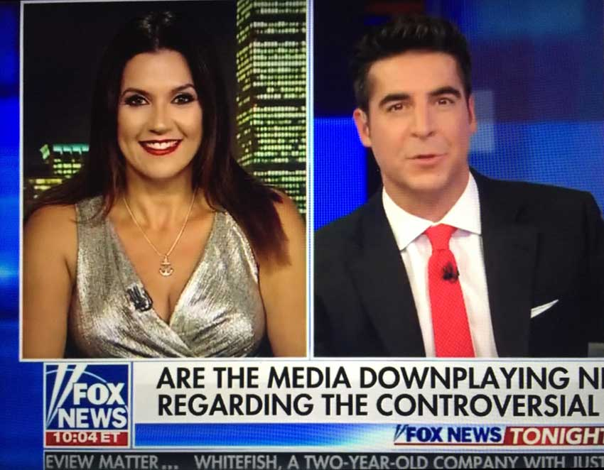 adriana cohen on fox news with jesse watters october 27 2017