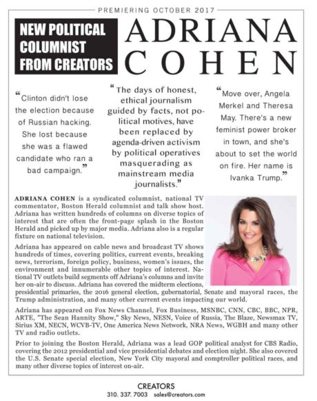 adriana cohen creators brochure
